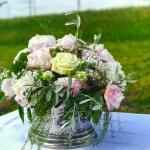 Floristik mit eigenen Rosen